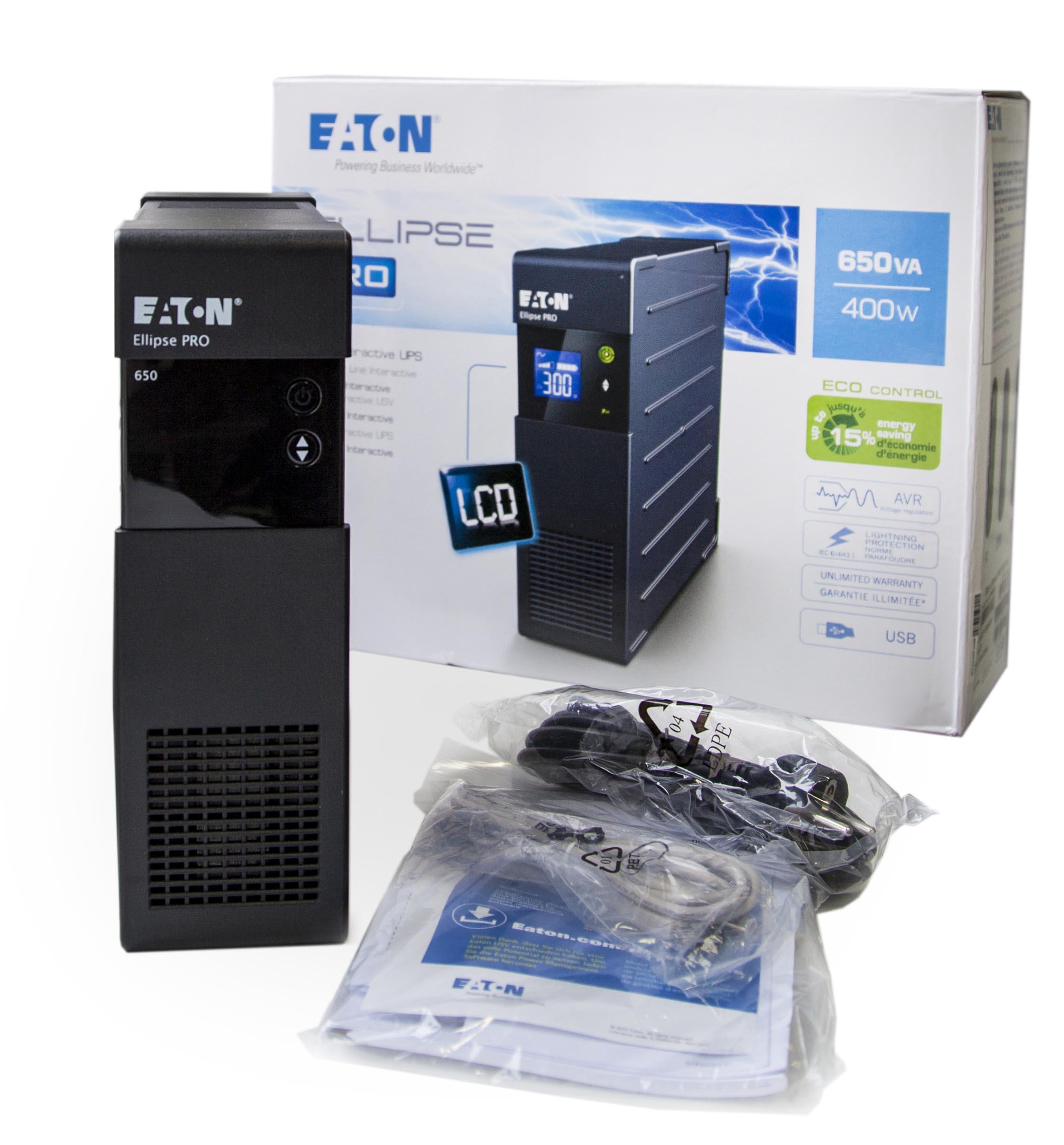 Технический обзор источника бесперебойного питания Eaton Ellipse PRO 650 DIN