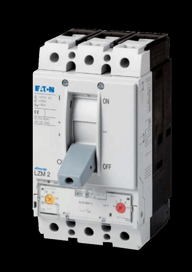 Автоматический выключатель в литом корпусе LZM