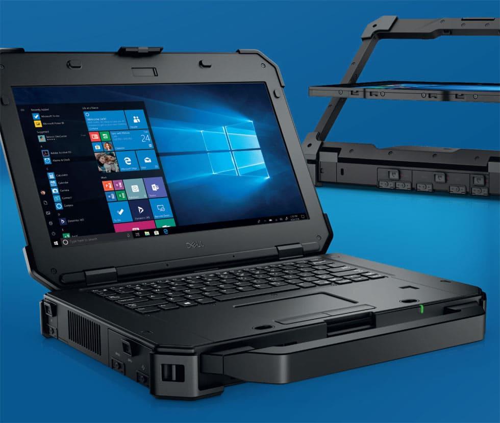 Защищенный ноутбук Latitude 7424 Rugged Extreme