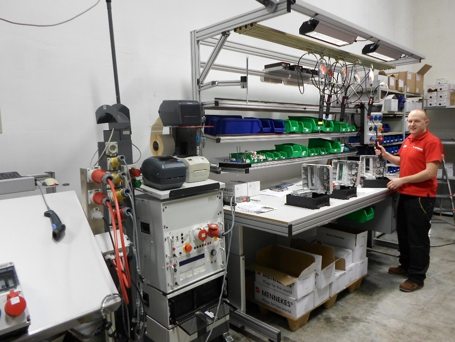 При покупке модулей Mennekes AMAXX - разъём серии PowerTOP Xtra в подарок