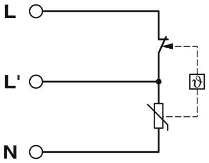 УЗИП 2906100 электрическая схема