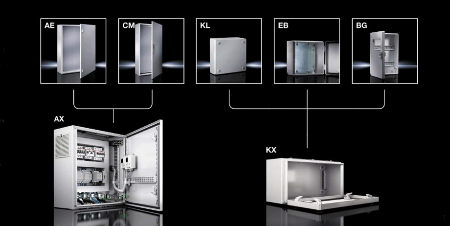 Старт продаж новой системы шкафов АХ и корпусов КХ