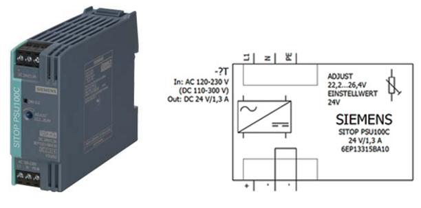 Блок питания SITOP серии SITOP Compact марки Siemens