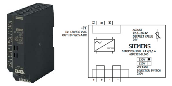 Блок питания SITOP - серия Sitop Lite марки Siemens