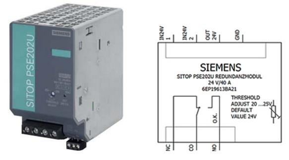 Модуль резервирования Siemens SITOP PSE202U