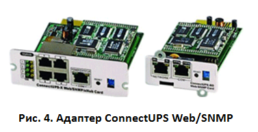 ConnectUPS Web/SNMP